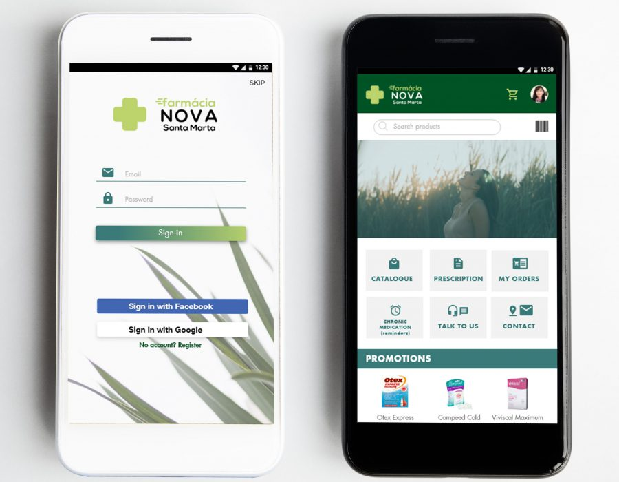 Pharmacy mobile app